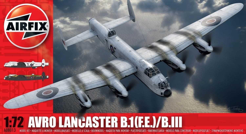 Classic Kit letadlo A08013 - Avro Lancaster BI(F.E.)/BIII (1:72) Airfix Plastikové modely