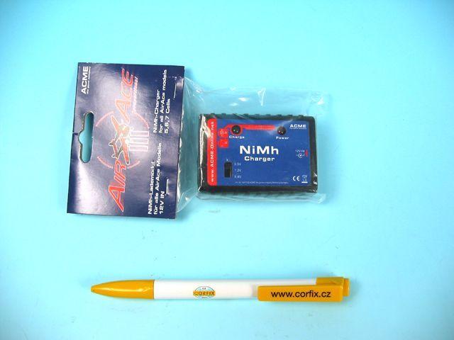 Nabíječ pro NiMH 6.0 - 8.4V Plastikové modely