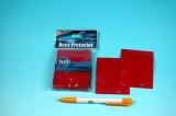 Obaly na hrací karty - červená (SOLID LAVA RED)