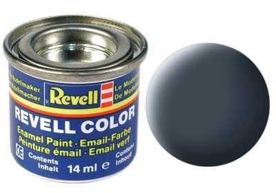 Barva Revell emailová - 32109: matná antracitová šedá (anthracite grey mat) Plastikové modely