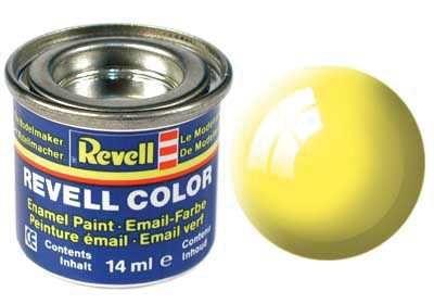 Barva Revell emailová - 32112: leská žlutá (yellow gloss) Plastikové modely