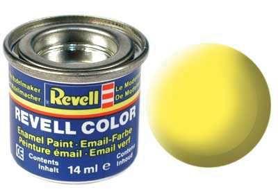 Barva Revell emailová - 32115: matná žlutá (yellow mat) Plastikové modely
