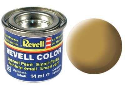 Barva Revell emailová - 32116: matná pískově žlutá (sandy yellow mat) Plastikové modely