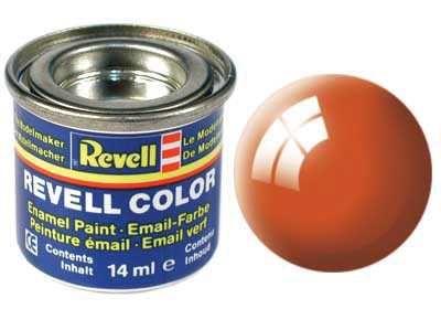 Barva Revell emailová - 32130: leská oranžová (orange gloss) Plastikové modely