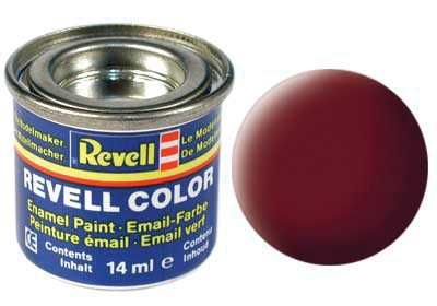 Barva Revell emailová - 32137: matná rudohnědá (reddish brown mat) Plastikové modely