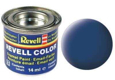 Barva Revell emailová - 32156: matná modrá (blue mat) Plastikové modely