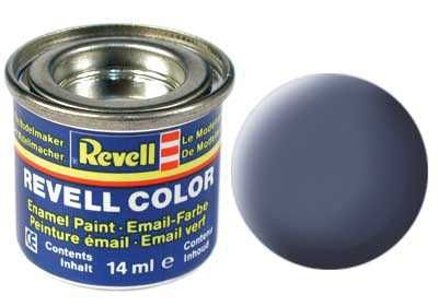 Barva Revell emailová - 32157: matná šedá (grey mat) Plastikové modely