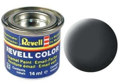 Barva Revell emailová - 32177: matná prachově šedá (dust grey mat) Plastikové modely