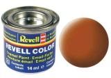Barva Revell emailová - 32185: matná hnědá (brown mat)