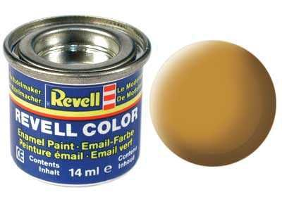 Barva Revell emailová - 32188: matná okrově hnědá (ochre brown mat) Plastikové modely