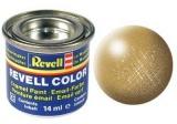 Barva Revell emailová - 32194: metalická zlatá (gold metallic)