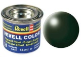 Barva Revell emailová - 32363: hedvábná tmavě zelená (dark green silk)