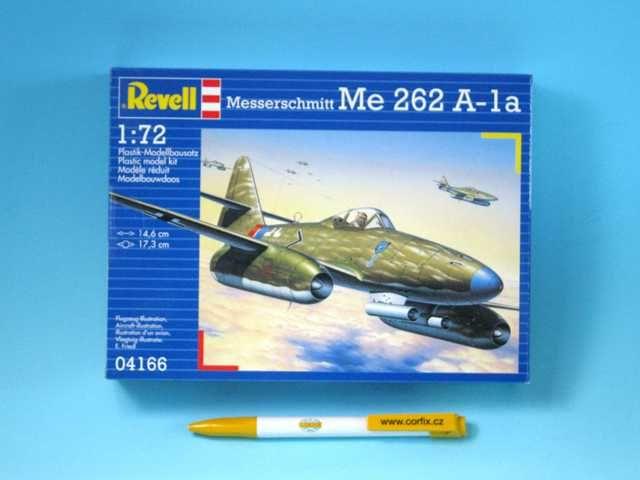 Plastic ModelKit letadlo 04166 - Messerschmitt Me 262 A-la (1:72) Plastikové modely