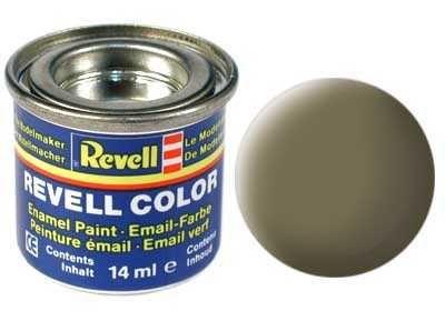 Barva Revell emailová - 32139: matná tmavě zelená (dark green mat) Plastikové modely