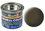 Barva Revell emailová - 32140: matná černozelená (black-green mat)