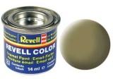 Barva Revell emailová - 32142: matná olivově žlutá (olive yellow mat)
