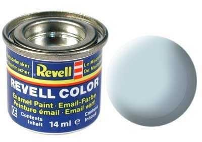 Barva Revell emailová - 32149: matná světle modrá (light blue mat) Plastikové modely