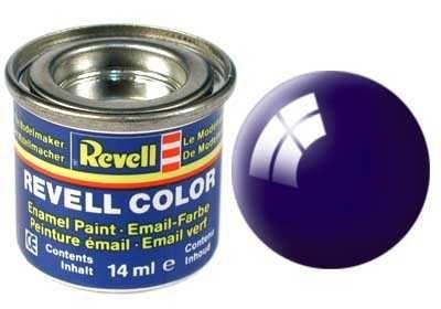 Barva Revell emailová - 32154: lesklá noční modrá (night blue gloss) Plastikové modely