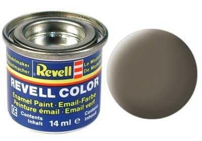 Barva Revell emailová - 32186: matná olivově hnědá (olive brown mat) Plastikové modely