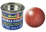 Barva Revell emailová - 32195: metalická bronzová (bronze metallic)