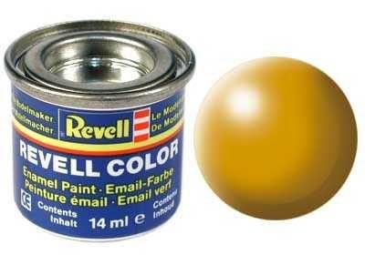 Barva Revell emailová - 32310: hedvábná žlutá (yellow silk) Plastikové modely