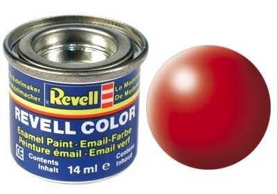 Barva Revell emailová - 32332: hedvábná světle červená (luminous red silk) Plastikové modely