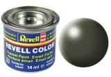 Barva Revell emailová - 32361: hedvábná olivově zelená (olive green silk)