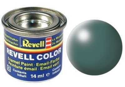Barva Revell emailová - 32364: hedvábná listově zelená (leaf green silk) Plastikové modely