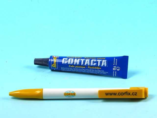 Contacta Glue 39602 - lepicí gel 13g Plastikové modely