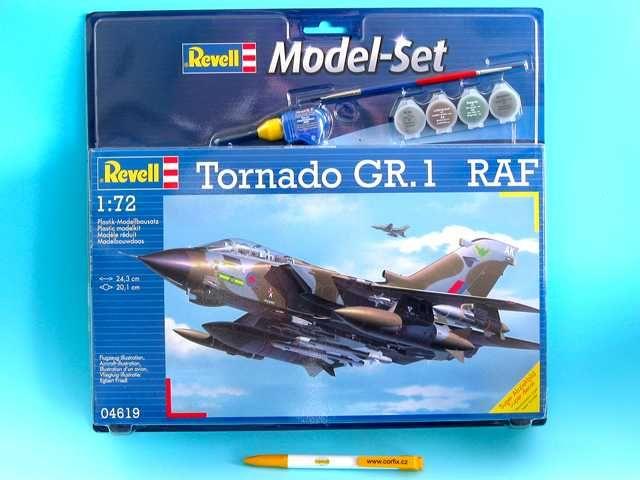 ModelSet letadlo 64619 - Tornado GR. 1 RAF (1:72) Plastikové modely