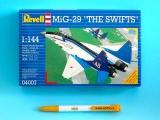 Plastic ModelKit letadlo 04007 - MiG-29 'The Swifts'  (1:144)