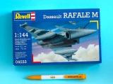 Plastic ModelKit letadlo 04033 - Dassault Rafale M  (1:144)