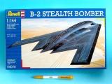 Plastic ModelKit letadlo 04070 - Northrop B-2 Bomber (1:144)