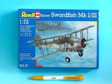 Plastic ModelKit letadlo 04115 - Fairey Swordfish Mk.I/III (1:72)