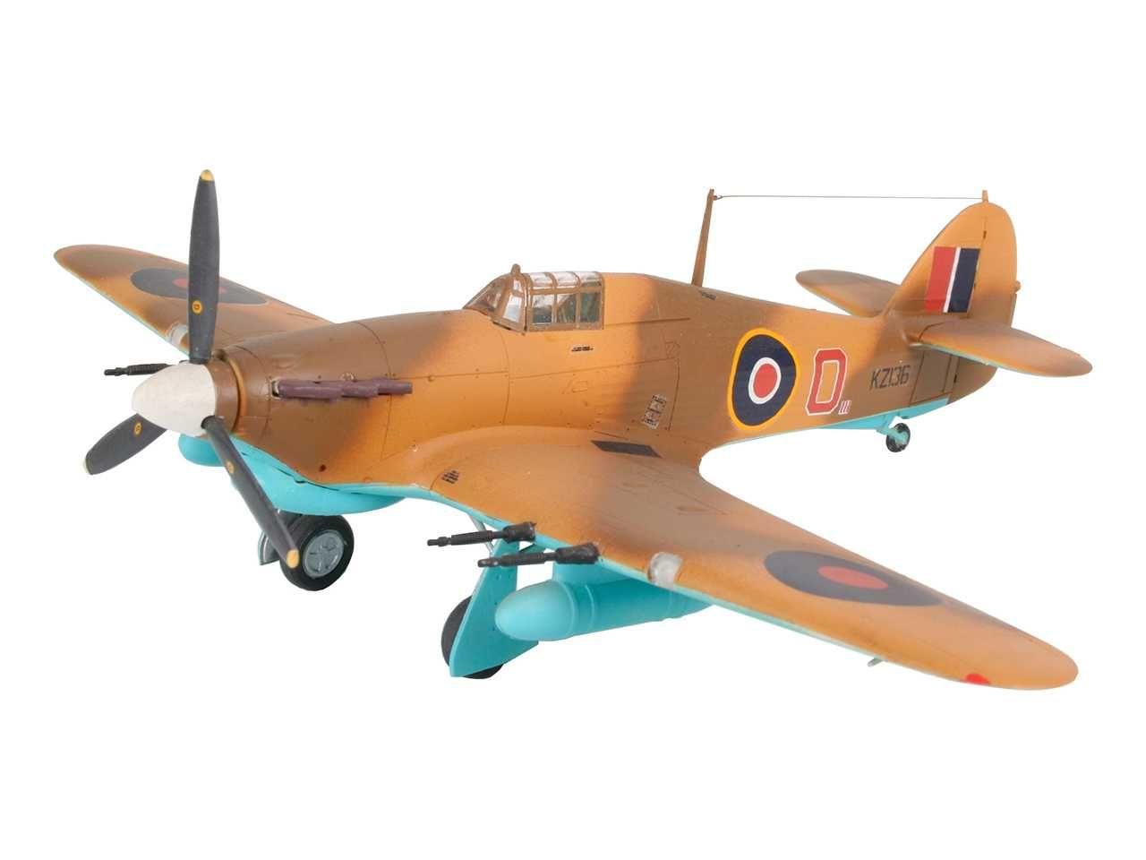 Plastic ModelKit letadlo 04144 - Hawker Hurricane Mk.IIC (1:72) Plastikové modely