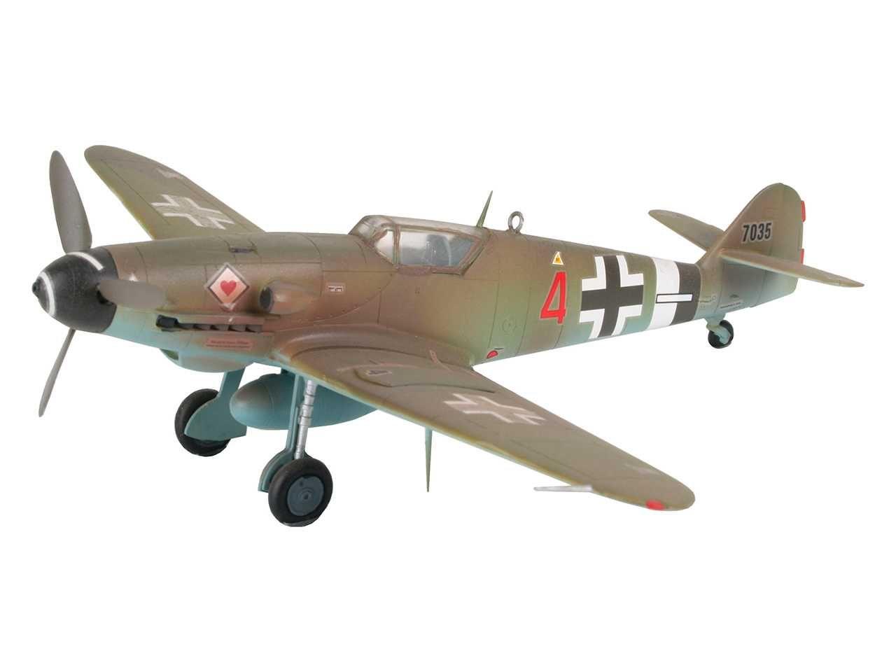 Plastic ModelKit letadlo 04160 - Messerschmitt Bf 109 G-10 (1:72) Plastikové modely