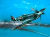 Plastic ModelKit letadlo 04164 - Spitfire Mk.V (1:72) Plastikové modely