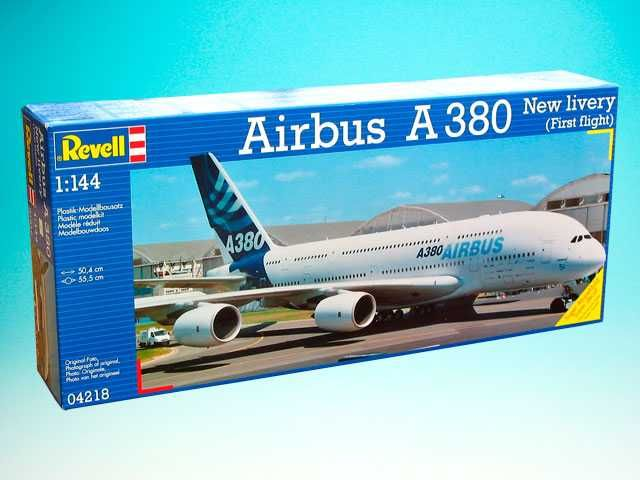 "Plastic ModelKit letadlo 04218 - Airbus A380 ""New Livery"" (1:144) Plastikové modely"