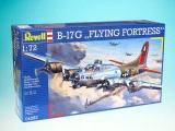 Plastic ModelKit letadlo 04283 - B-17G Flying Fortress (1:72)