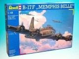Plastic ModelKit letadlo 04297 - B-17 F Memphis Belle (1:48)