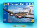 Plastic ModelKit letadlo 04377 - Heinkel HE 111 H-6  (1:72)