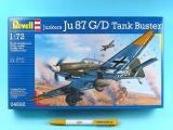 Plastic ModelKit letadlo 04692 - Junkers Ju87 G/D Tank Buster (1:72)