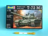 Plastic ModelKit tank 03149 - Soviet Battle T-72 M1 (1:72)