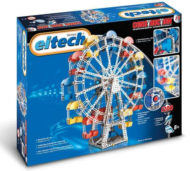 EITECH Metal Construction set - C17 Ferris Wheel Plastikové modely