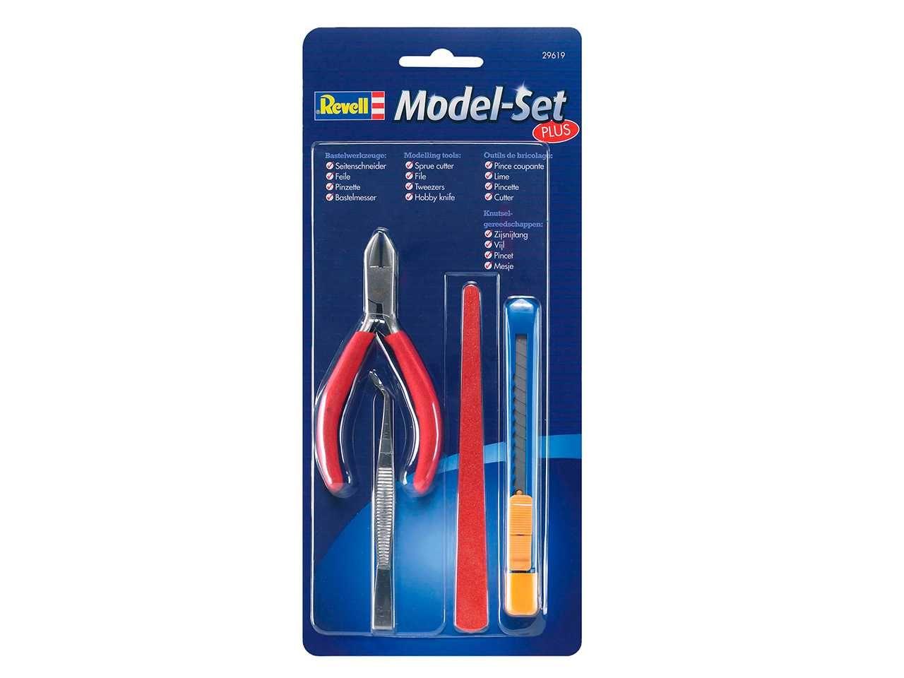 Model Set Plus Assembly 29619 - sada nářadí pro modeláře Plastikové modely