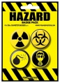 Placka set - Hazard - 4x38mm