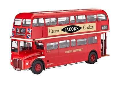 Plastic ModelKit autobus 07651 - LONDON BUS (1:24) Plastikové modely