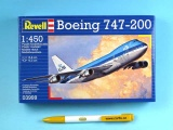Plastic ModelKit letadlo 03999 - Boeing 747-200 Jumbo Jet (1:450)