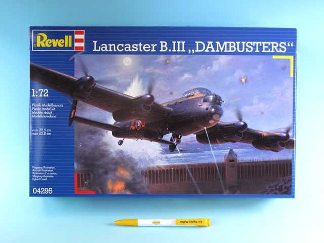 "Plastic ModelKit letadlo 04295 - Avro Lancaster ""DAMBUSTERS"" (1:72) Plastikové modely"