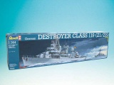 Plastic ModelKit loď 05097 - German DESTROYER CLASS 119 (Z1/Z5) (1:144)
